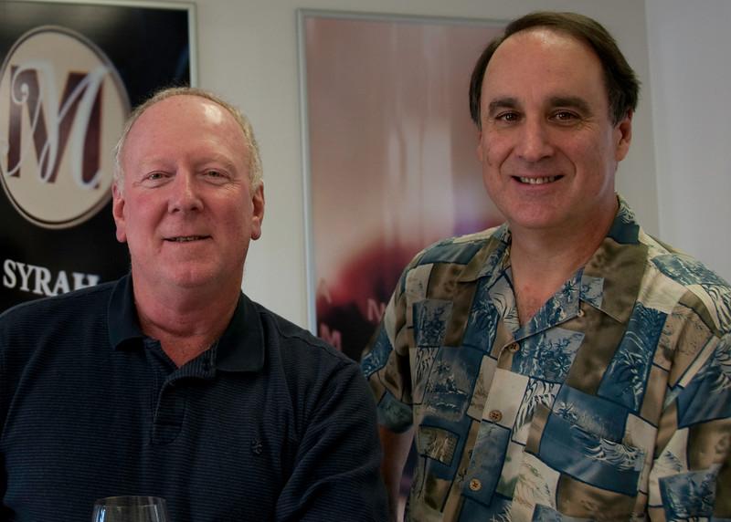 01-29-10 Steve & Larry at Andrew Murray-1