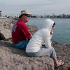 01-29-10 Deb & Larry at The Beach-1