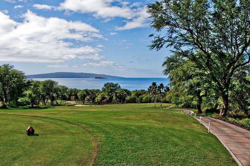 01-16-10 Maui - First Hole on the Blue Course