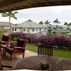 01-16-10 Maui - Lanai of Bill & Susan's house. Panorama stitched from 3 shots.