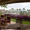 01-16-10 Maui - Lanai of Bill & Susan's house. Panorama stitched from 3 shots.