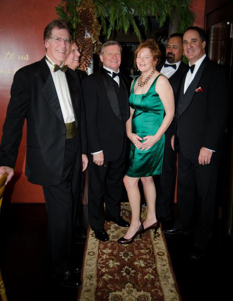 Kara with the boys:<br /> <br /> Nick, Brad (background), Paul, Carl, Steve