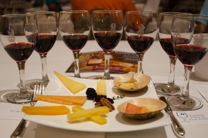 6-10-11 - Kapalua Wine and Food Festival - Wine & Chees event