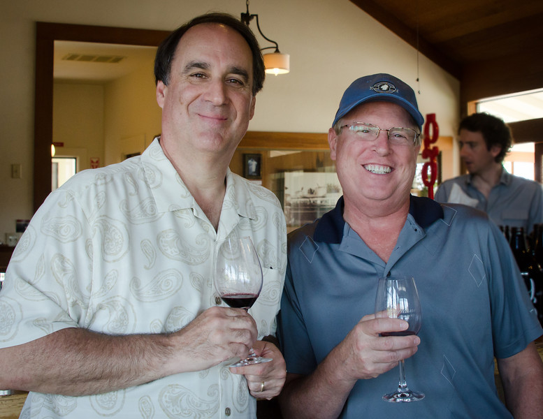 8-21-11 - Steve & Brad at Foppiano