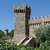 9-2-11 Castello di Amorosa - castle from the vineyard