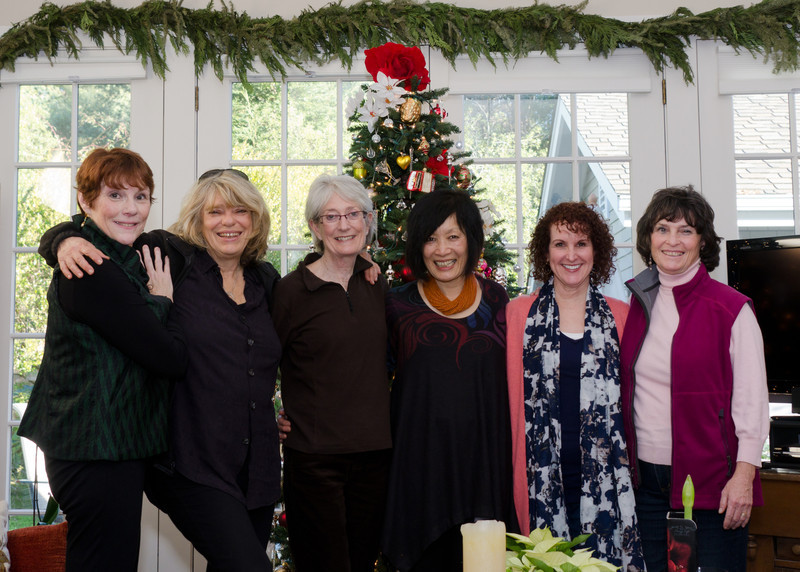 12-20-11 Girls Frig Lunch: Me (Jeri), Wendy, Elspeth, Ellen, Janet, Joan