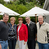 8-20-11 - Backyard party: Brad's brother Brian, Kathy, Me, Greg, Brad