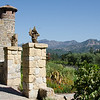 9-2-11 - Castella di Amorosa in Calistoga. Drive up an unassuming drive and there is a full-on CASTLE up there. Amazing!