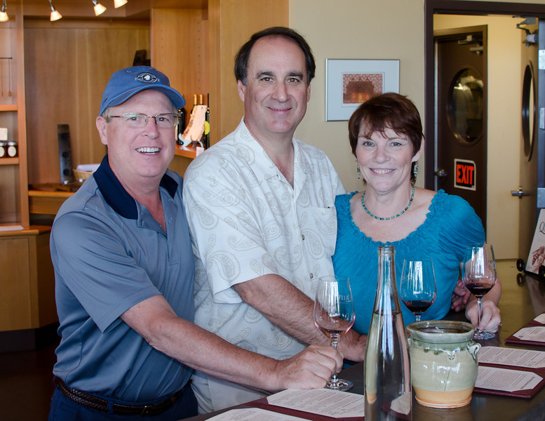 8-21-11 - Quivira with Brad, after lunch at Willie's in Healdsburg