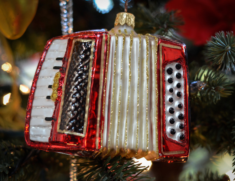 Favorite Ornament<br /> For someone who played the accordian when they were a little girl . . .