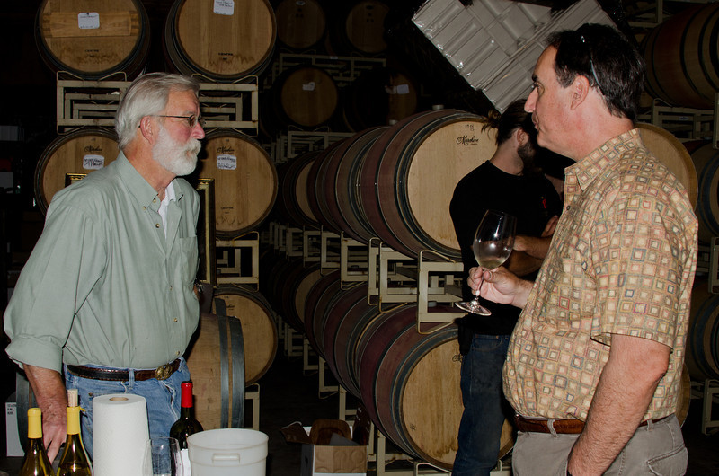 """8-31-11 Charlie Smith and Steve being """"wine geeks"""""""