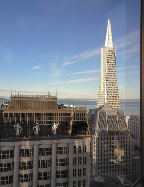 Lunch with Steve, Lori, Tony & Lydia - Transamerica building.