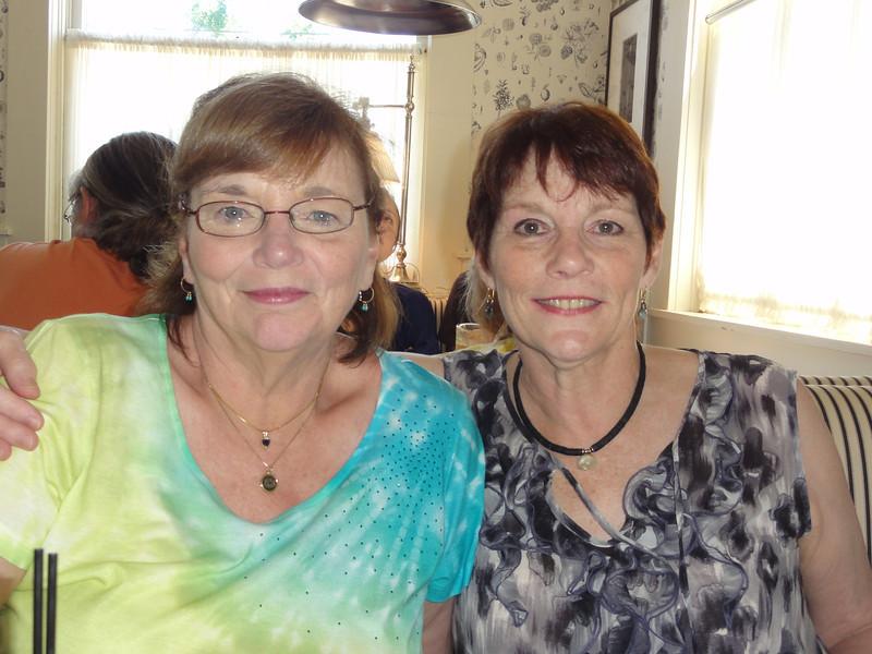 Pam & Jeri at Cindy's