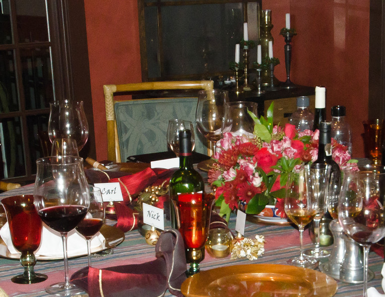The table - after the dinner