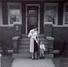 228 W. Franklin 1961...I'm the infant in my mom's arm, Rich is standing on her left