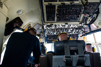 Protograph from the jump seat location on the Blue Angels Fat Albert C-130T Hercules at the NAS Miramar Airshow._DSC2277