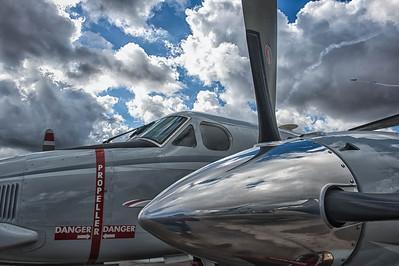 C-12 King Air at the NAS Miramar Air Show in San Diego_DSC2083_HDR-Edit