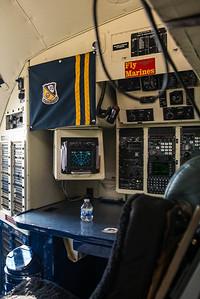Photo of the Navigators station on the C-130T Hercules Fat Albert at the NAS Miramar Airshow 2012._DSC2284