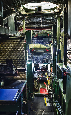 View towards the cockpit of the C-47