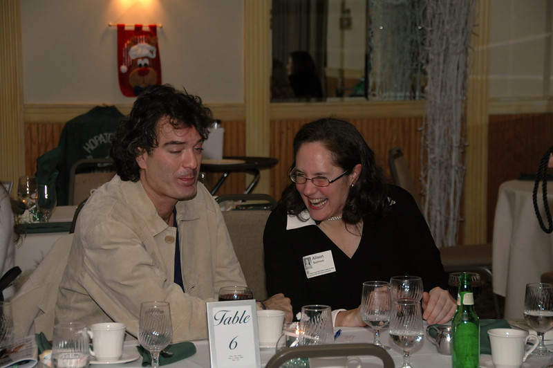 Frank Puccio and Alison Salmon