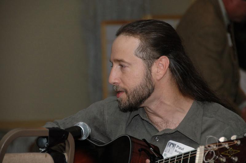 Paul Burger Playing Guitar
