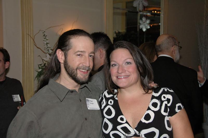 Paul Burger and Vicki O'Grady
