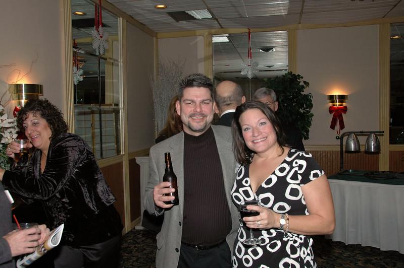 Mike Francis and Vicki O'Grady
