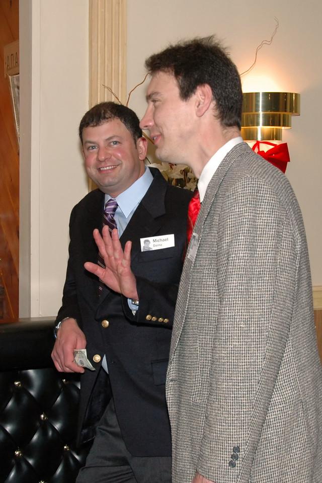 Mike Daino and Henry Koehler