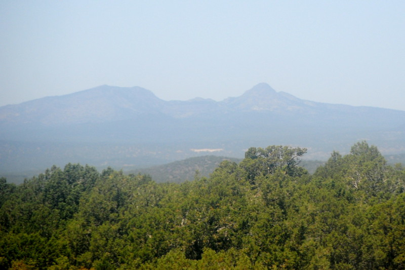 Scenery - Round Mountain and Mount Floyd