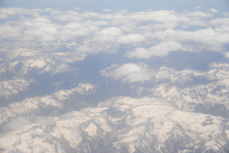 Aerial - Rocky Mountains