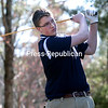 Friday, April 26, 2013. Beekmantown won a tie-breaker to beat Seton Catholic after the two teams tied 3-all during their match Adirondack Golf & Country Club. <br /><br />(P-R Photo/Gabe Dickens)