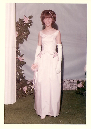 Melanie Harris - Junior Prom       1965