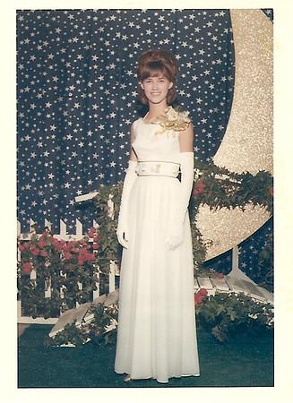 Melanie Harris - Senior Prom  1966