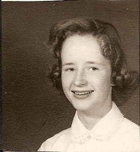 Mary Ann Harris - age 13 - 8th grade    1956