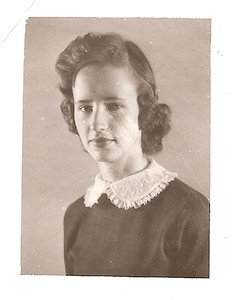 Mary Ann Harris - 9th Grade        1957