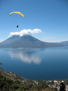 2008 Calendar Submission 73 Submitted by: Stephen CollardLocation: Lake Atitlan, GuatemalaPhotographer: Stephen CollardPilot: Nova