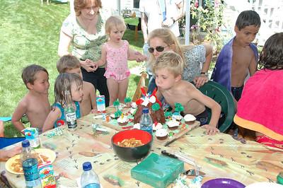 Drew's 5th Birthday Party