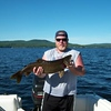 "31"" lake trout, Upper Chateaugay Lake"