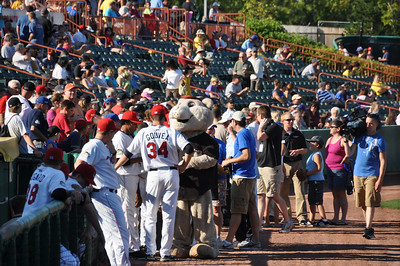 Valley Cats Baseball game