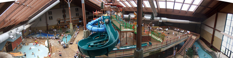 Panarama of the park.  Taken from the rafting tower.