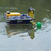 Serenity dodging a green buoy