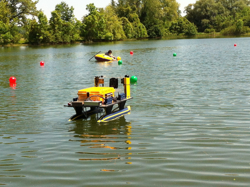 Testing at Gallop Park