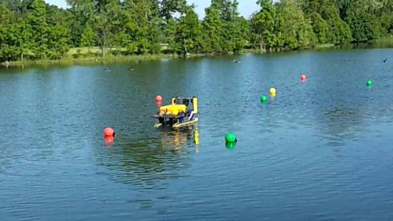 Autonomous run in Gallup Park