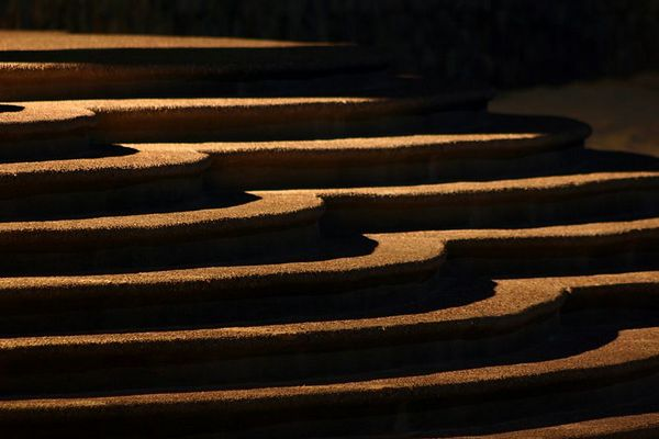 """""""Stairing Into The Shadows""""<br /> <br /> Winner, 1st Place<br /> Special Category: """"Shadows""""<br /> Castle Craig Camera Club<br /> February 7, 2006"""