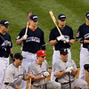 2008 Home Run Derby Contestants:(L to R)<br /> Back row: Josh Hamilton, Justin Morneau, Evan Longoria, Grady Sizemore<br /> Front row: Lance Berkman, Chase Utley, Dan Uggla, Ryan Braun