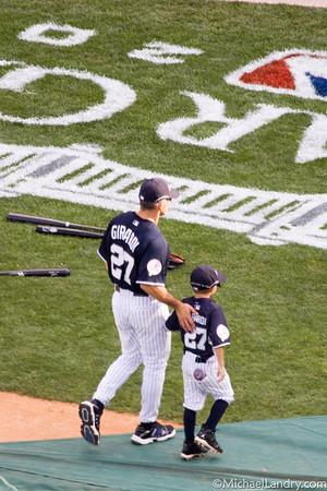 Joe Girardi and his son