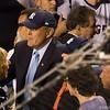 The ex-mayor Rudy Giuliani and current Mayor Michael Bloomberg