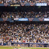 His American League teammates await Mariano Rivera at the mound
