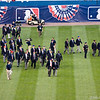 49 Hall of Famers join the 2008 All Stars for the pre-game festivities