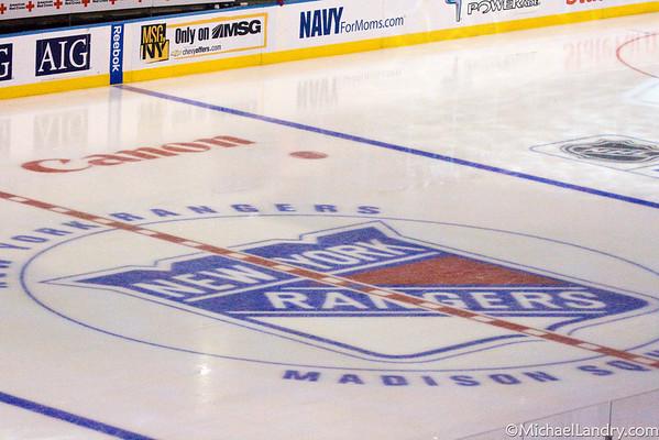 NY Rangers Hockey - © Michael Landry Photography
